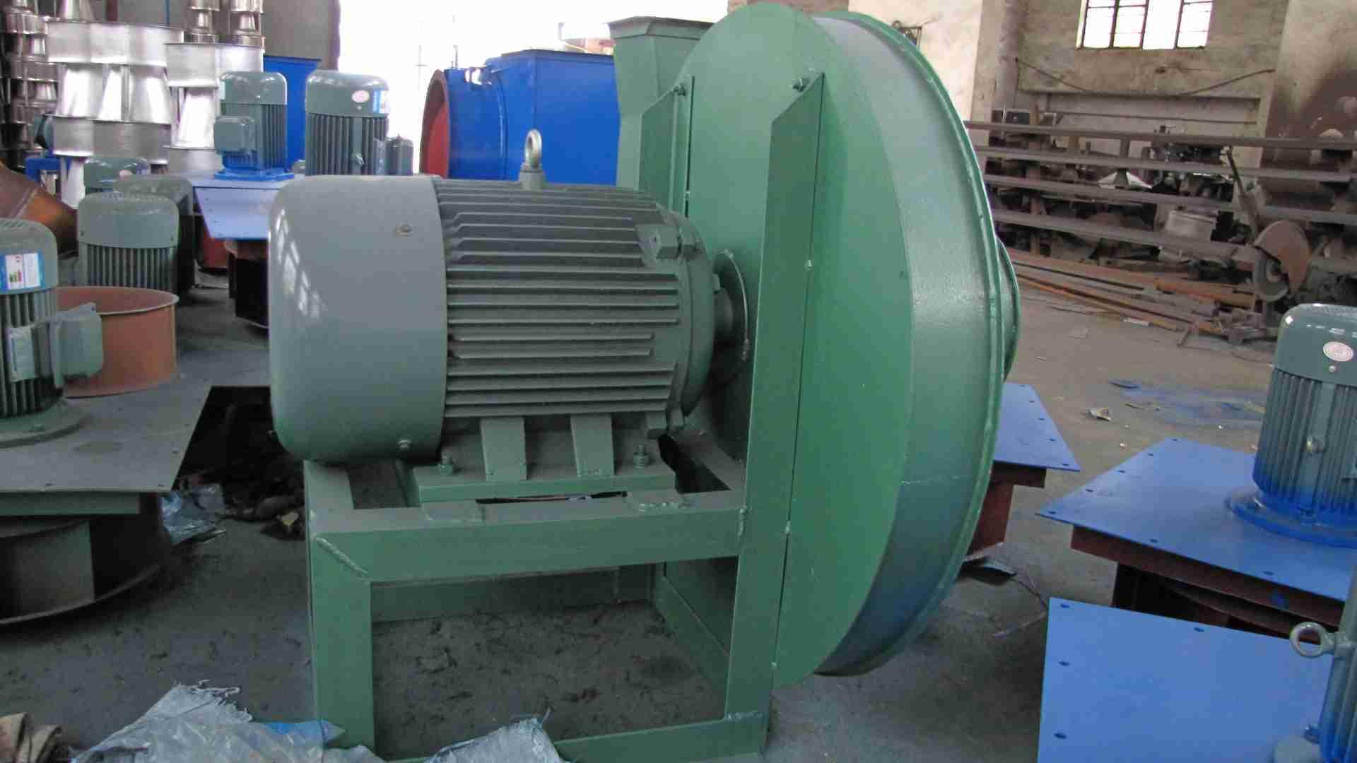 各种干燥设备专用离心风机9-19-5。6A 11KW
