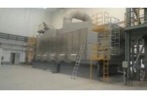 污泥干化设备 果渣网带式干燥机