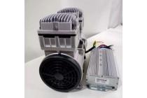 直流24V活塞式550W无油空气压缩机